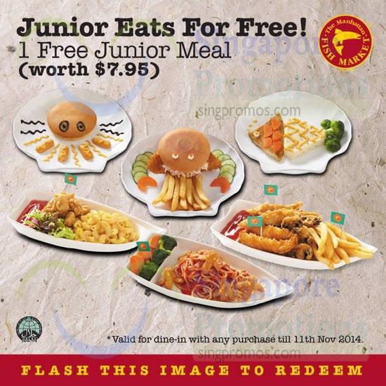 Free Junior Meal