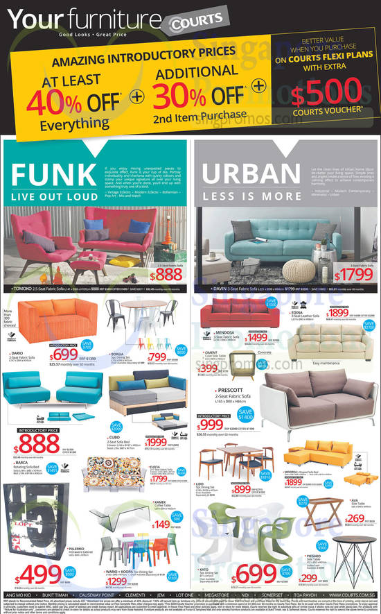 Featured image for Courts Massive Clearance Upsized Offers 18 - 20 Oct 2014
