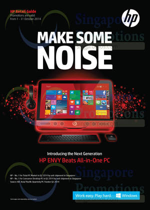 Featured image for HP Notebooks, Desktop PCs & Accessories Offers 1 – 31 Oct 2014
