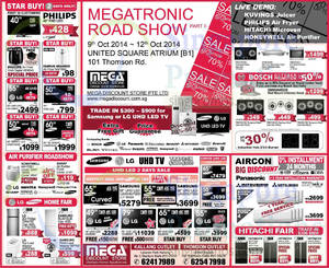 Featured image for Mega Discount Store TVs, Appliances & Air Conditioner Offers 11 Oct 2014