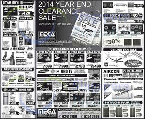 Featured image for Mega Discount Store TVs, Appliances & Air Conditioner Offers 25 Oct 2014