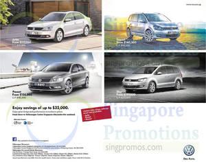 Featured image for Volkswagen Jetta, Touran, Passat & Sharan Offers 11 Oct 2014
