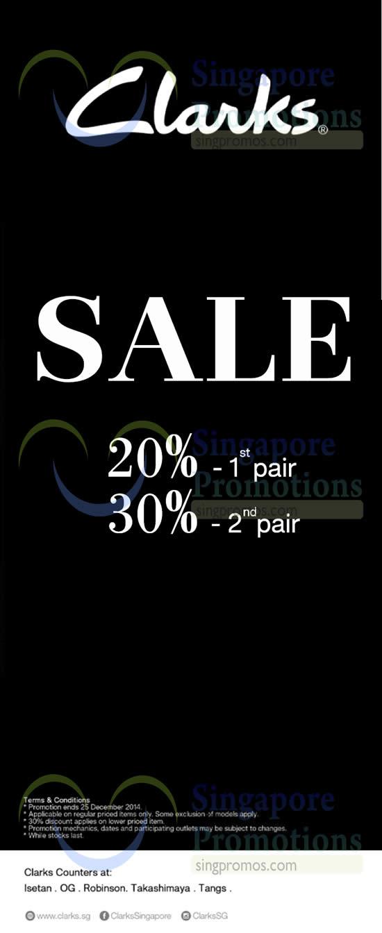 12 Dec Clarks Sale