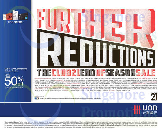 13 Dec Further Reductions