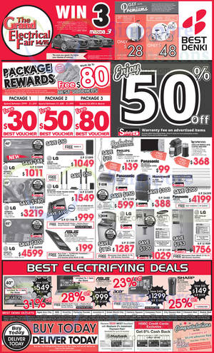 Featured image for Best Denki TV, Appliances & Other Electronics Offers 14 – 17 Nov 2014