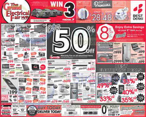 Featured image for Best Denki TV, Appliances & Other Electronics Offers 7 – 10 Nov 2014