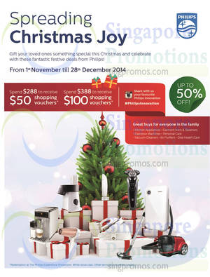Featured image for Philips Christmas Offers 1 Nov – 28 Dec 2014