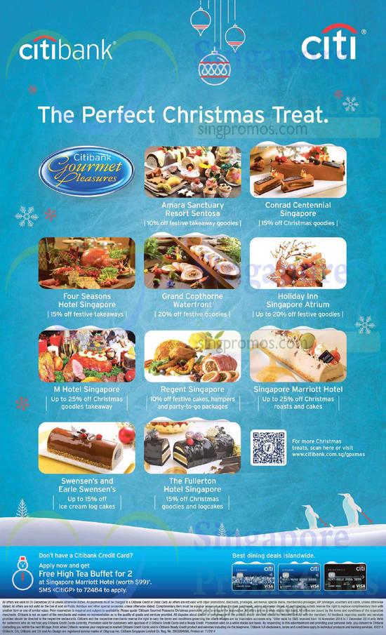 Citibank Gourmet Pleasures 16 Nov 2014