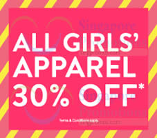 Featured image for Fox Fashion 30% Off Girls' Apparel Promo 26 Nov 2014