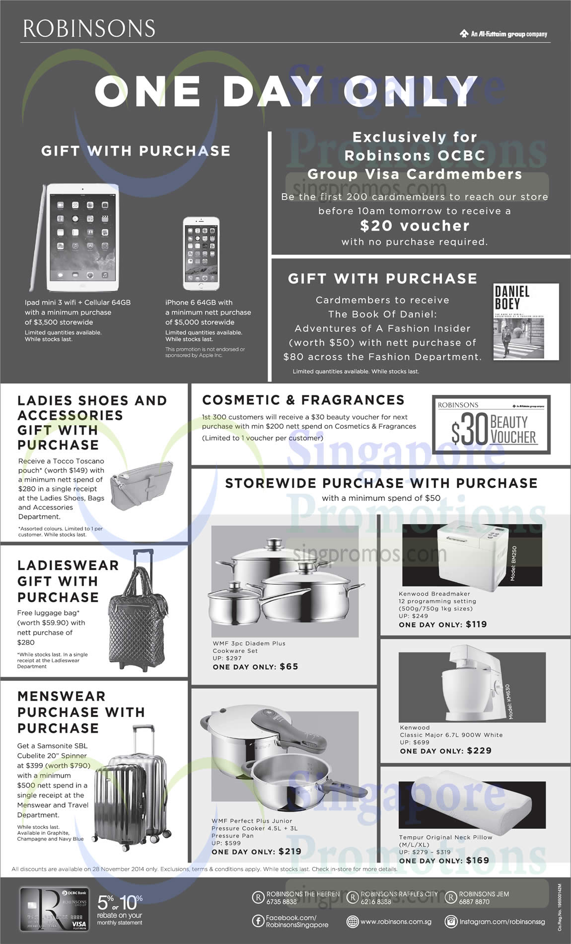 gift with purchase ladieswear gift menswear gift purchase with purchase wmf kenwood tempur. Black Bedroom Furniture Sets. Home Design Ideas