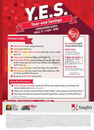 Featured image for Singtel SITEX 2014 Smartphones, Tablets, Broadband & Mio TV Offers 27 – 30 Nov 2014