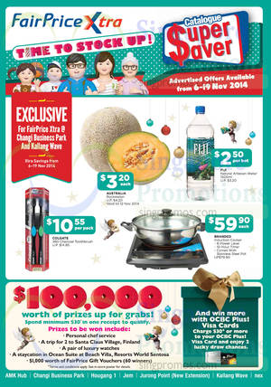 Featured image for NTUC Fairprice Electronics, Groceries, Household, Luggages & More 6 – 19 Nov 2014