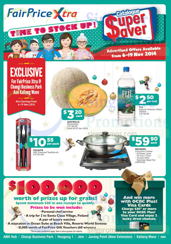 Featured image for NTUC Fairprice Electronics, Groceries, Household, Luggages & More 6 - 19 Nov 2014