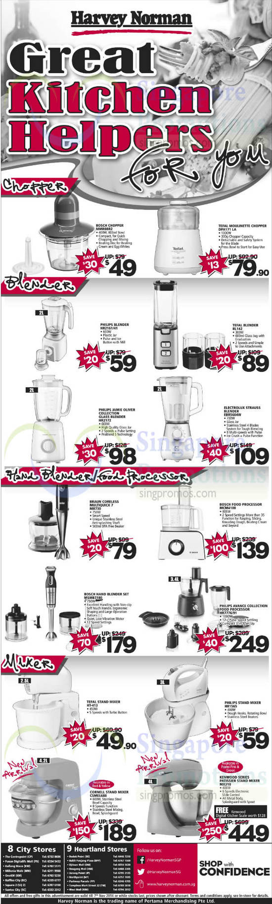 Featured image for Harvey Norman Digital Cameras, Notebooks & Appliances Offers 1 - 7 Nov 2014