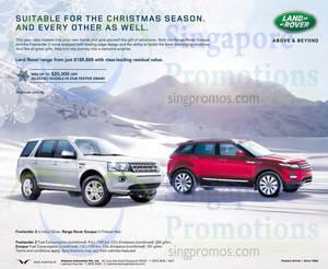Featured image for Land Rover Freelander 2 & Land Rover Evoque Offers 1 Nov 2014