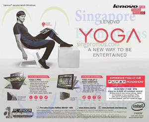 Featured image for Lenovo Funan Roadshow @ Funan DigitaLife Mall 20 – 23 Nov 2014