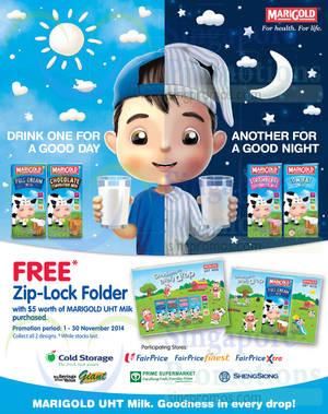 Featured image for Marigold Buy $5 & Get FREE Zip-Lock Folder 1 – 30 Nov 2014