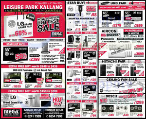 Featured image for Mega Discount Store TVs, Appliances & Gas Hob Offers 1 Nov 2014