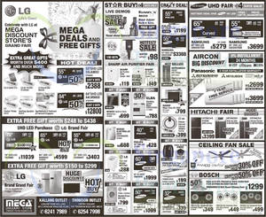 Featured image for Mega Discount Store TVs, Appliances & Other Offers 8 Nov 2014