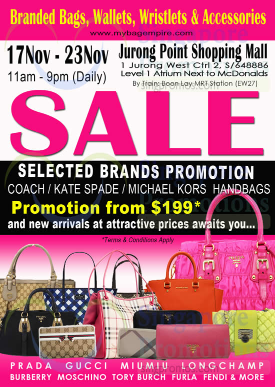 8bc2fe268479 MyBagEmpire Branded Handbags   Accessories Sale   Jurong Point 17 ...