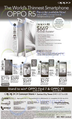 Featured image for Oppo Smartphone Offers 15 Nov 2014