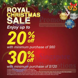 b3d5824a85 Royal Sporting House   Stadium Up To 30% Off 20 Nov – 25 Dec 2014 UPDATED  23 Nov 2014
