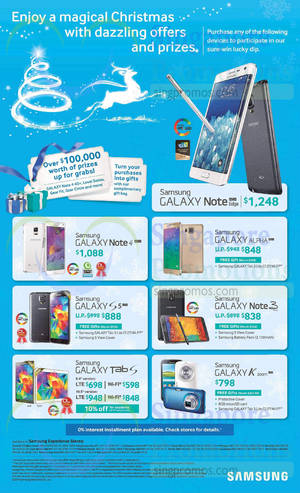 Featured image for Samsung Smartphones & Tablets No Contract Offers 22 Nov 2014