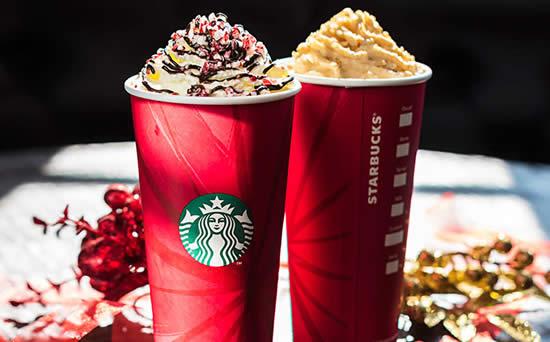 Starbucks Christmas Drinks.Starbucks Buy 1 Get 1 Free Christmas Drinks 1 Day Promo 1