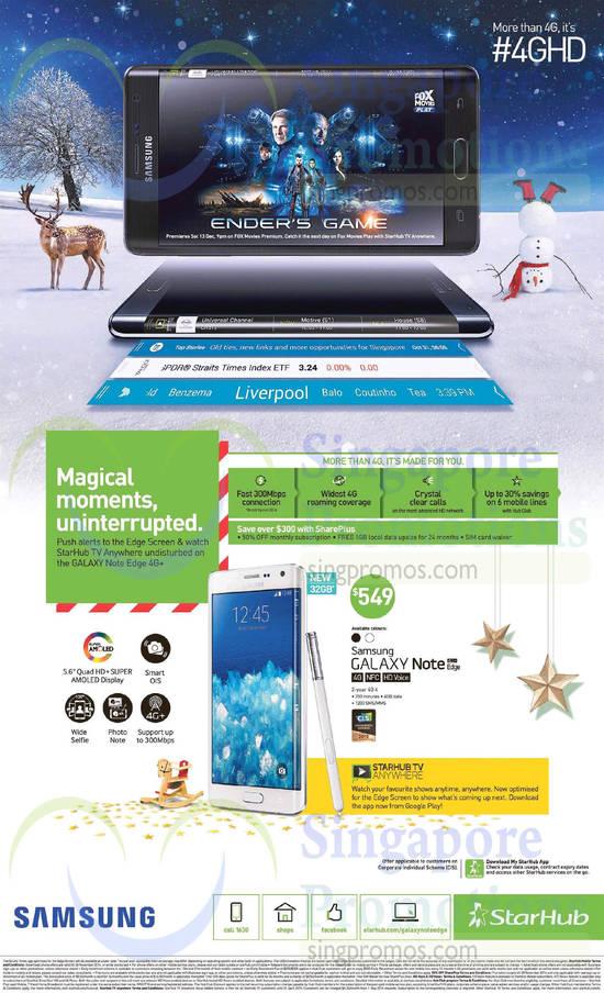 Starhub Samsung Galaxy Note Edge