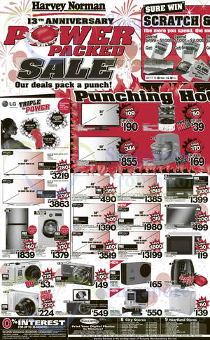 Featured image for Harvey Norman Electronics & Furniture Offers 29 Nov – 5 Dec 2014