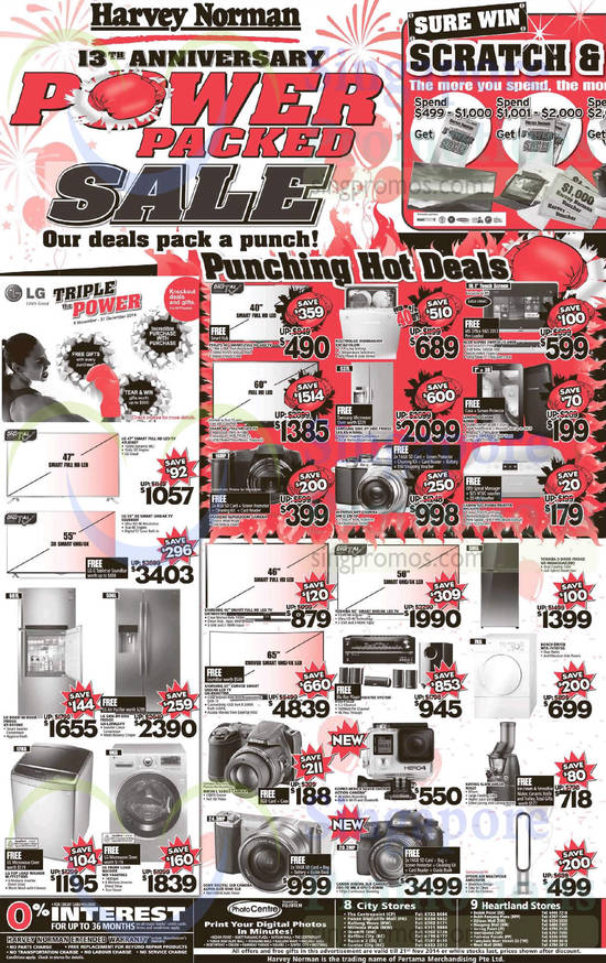 Featured image for Harvey Norman Digital Cameras, Notebooks & Appliances Offers 15 - 21 Nov 2014