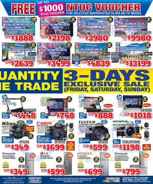 Featured image for Audio House Electronics, TV, Notebooks & Appliances Offers @ Liang Court 21 – 23 Nov 2014