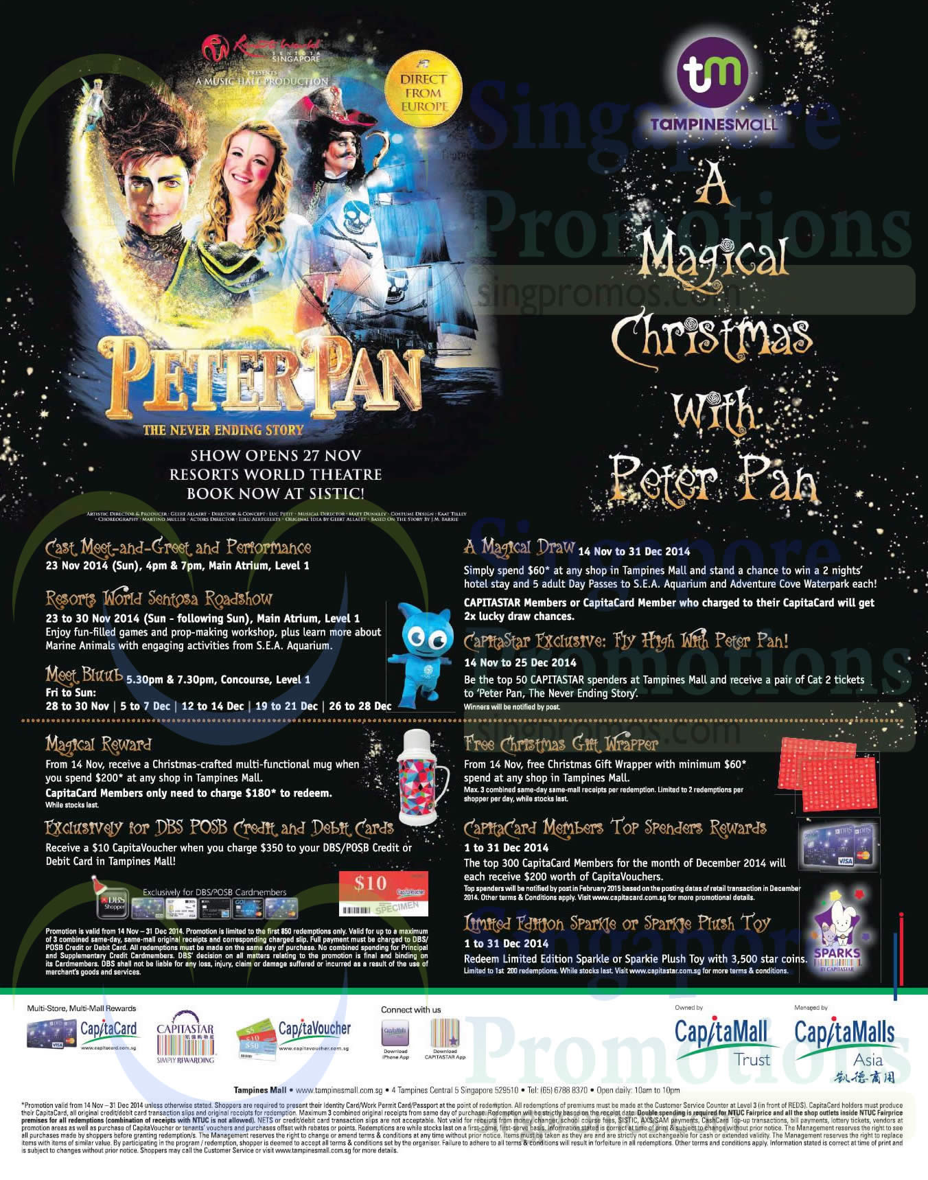 6e1033faabc5e Tampines Mall Magical Christmas with Peter Pan Promotions ...