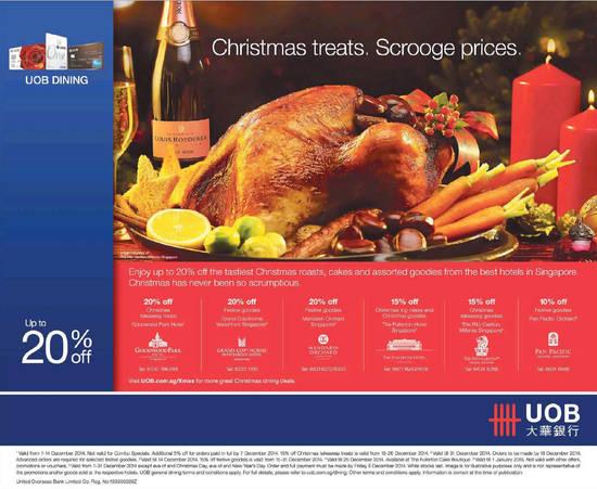 UOB Christmas Treats 27 Nov 2014