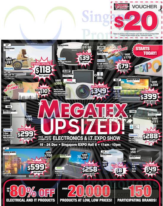 Featured image for Megatex 2014 (19 - 28 Dec) Electronics & IT Expo Show @ Singapore Expo 19 - 28 Dec 2014