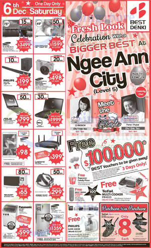 Featured image for Best Denki Ngee Ann City Celebration Offers 5 – 8 Dec 2014