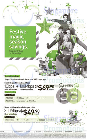 Featured image for Starhub Smartphones, Tablets, Cable TV & Broadband Offers 13 – 19 Dec 2014