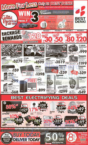 Featured image for Best Denki TV, Appliances & Other Electronics Offers 5 – 8 Dec 2014