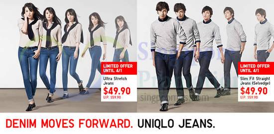Denim Ultra Stretch Jeans, Slim Fit Straight Jeans Selvedge