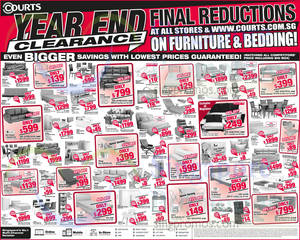 Featured image for Courts Year End Clearance Sale Offers 27 – 31 Dec 2014