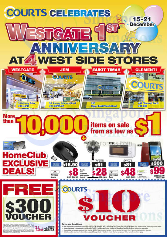 HomeClub Exclusive Deals, Cut Out Coupon, Free Vouchers, Ovens