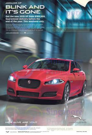 Featured image for Jaguar XF Offer 13 Dec 2014