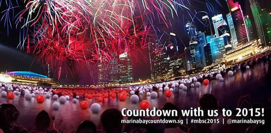 Marina Bay Countdown 21 Dec 2014