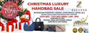 Featured image for Reluzzo Up To 70% OFF Branded Handbags SALE 20 – 21 Dec 2014