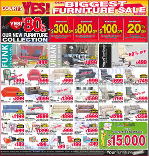 Featured image for Courts Year End Sale Offers 13 – 14 Dec 2014