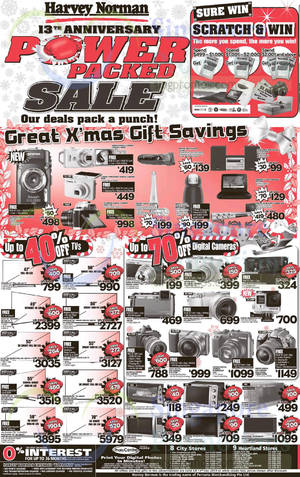 Featured image for Harvey Norman Electronics, IT, Appliances & Other Offers 6 – 12 Dec 2014