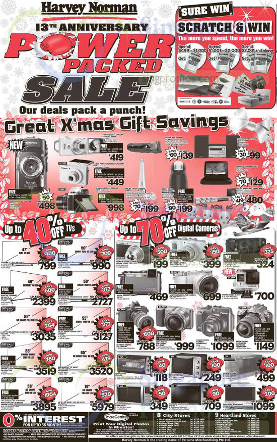 Featured image for Harvey Norman Electronics, IT, Appliances & Other Offers 6 - 12 Dec 2014