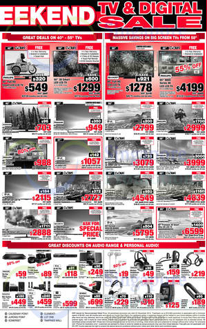 Featured image for Courts Year End Sale Offers 20 – 22 Dec 2014