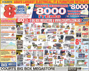 Featured image for Courts Year End Sale Offers 6 – 8 Dec 2014