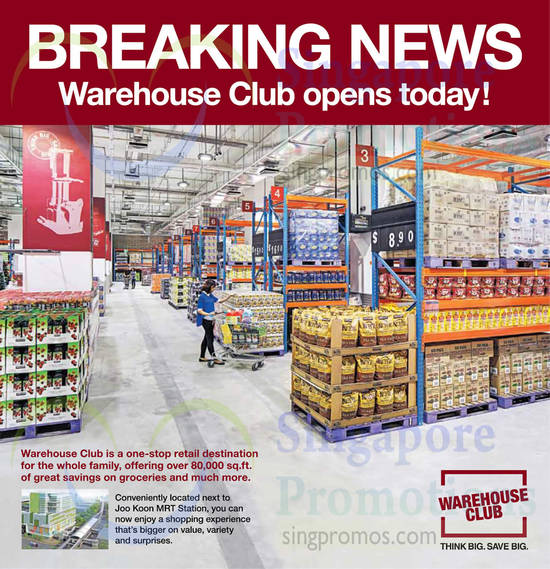 Warehouse Club Opening